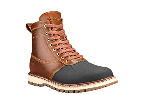 Timberland Men's Britton Hill Moc-Toe Waterproof Boot (8 D(M) US, Brown)