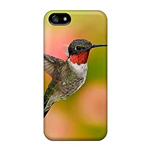 Protective Tpu Case With Fashion Design For Iphone 5/5s (a Hummingbird)