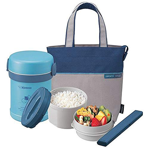 Cheap Zojirushi SL-MEE07AB Ms. Bento Stainless Lunch Jar, Aqua Blue, One size zojirushi lunch box