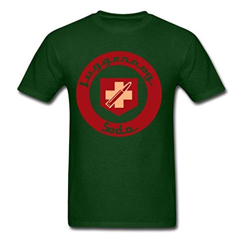 Men's Personalize Diy Juggernog Soda DD.Cat T-Shirt Forest green Small