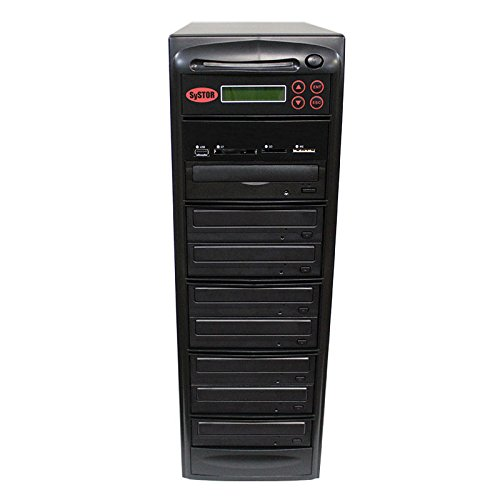 SySTOR All-in-One Multi-Media Flash Memory Back-up USB/SD/CF/MS/MMC to 1-7 CD DVD Duplicator by Systor Systems