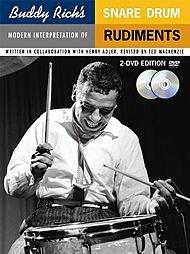 - Music Sales Buddy Rich's Modern Interpretation Of Snare Drum Rudiments 2-DVD Edition