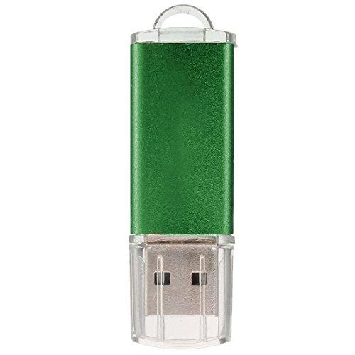 TOOGOO(R) USB 2.0 Flash Memory Stick Pen Drive Storage Thumb Color:Green Capacity:512MB