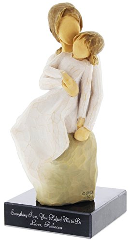 Willow Tree Mother Daughter Figurine Personalized