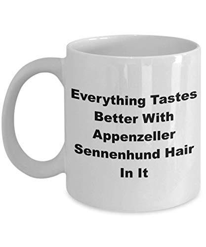 Funny Appenzeller Sennenhund Mug - Coffee Cup Ideas Dog Mom Dad Owners - Everything Tastes 1