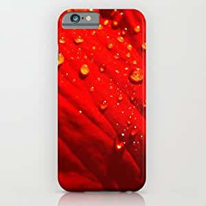 classic - Drops On Red iPhone 6 Case by 7NTHRISE