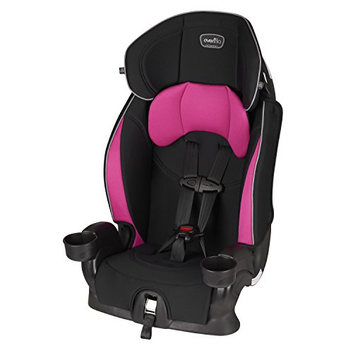 Find Cheap Evenflo Chase Sport Harnessed Booster Car Seat, Jayden