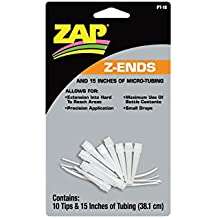 Pacer Technology (Zap)) Z-Ends Adhesives (10 Tips)