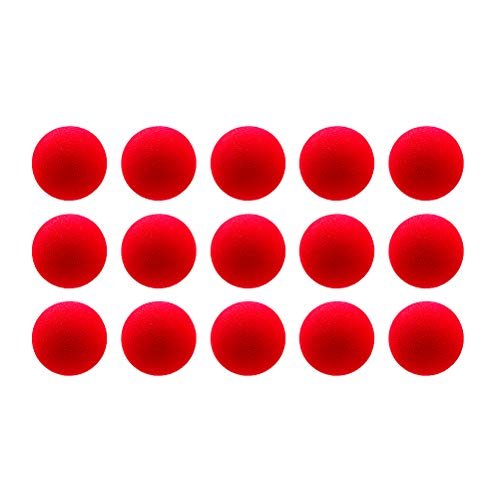 Aoneky 15 Pack Baby Toys Balls - Small Soft Foam Balls for Toddlers Red for $<!--$15.99-->