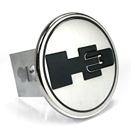HUMMER H3 Logo Metal Tow Hitch Cover Plug