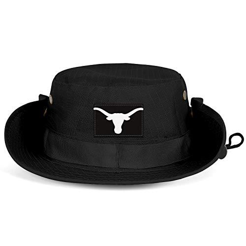 Unisex Men's Sun Hat Breathable Tourism Longhorn Clipart Silhouette Fishing Caps