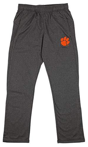 (Outerstuff NCAA Men's Helix Track Pant, Clemson Tigers Large)