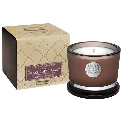 Aquiesse French Oak Currant 5 Oz. Candle in Gift (Currant Candle Scent)