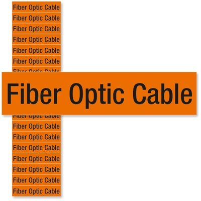 1//2 x 2-1//4 2.25 x 0.5 Small 5 Cards//pack Fiber Optic Cable