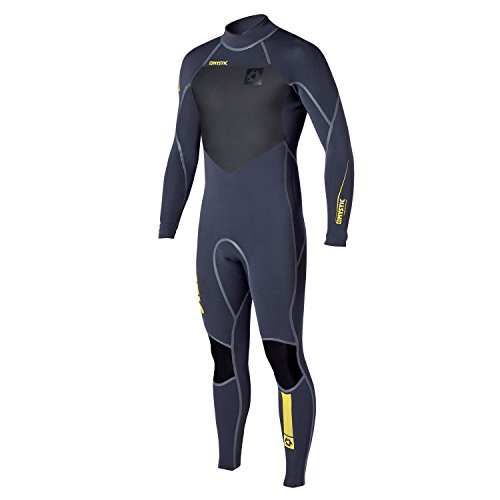 Back Zip Steamer - Mystic Majestic 5/4mm GBS Sealed Seam BACK-Zip Steamer - Wolf Grey Wetsuit Sizes - XLarge