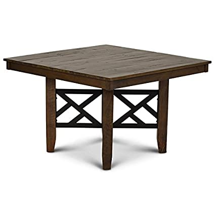 Rustic square dining table Large Image Unavailable Home Interiorjust Another Wordpress Site Amazoncom Steve Silver Mayla 47