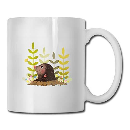 BuecoutesCute Mole 11oz Tea Cup Coffee Mug