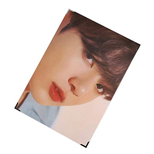 Cianowegy Kpop BTS Love Yourself Speak Yourself Official Premium Poster Photocard Photo Frame Poster Large Photo Card Postcard, Fans Collection Version, 14.4×9.3 Inch (Speak Yourself: JUNG KOOK)