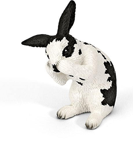 (Schleich Grooming Rabbit Toy)