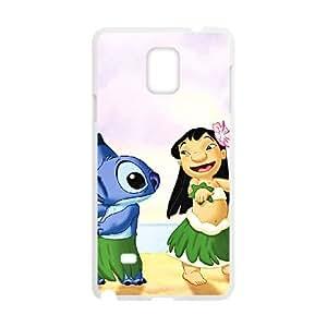 Samsung Galaxy Note 4 Cell Phone Case White Disneys Lilo and Stitch SLI_548704