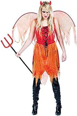 EUROCARNAVALES Aptafêtes – cs99797 Demonio Mujer alas Disfraz ...