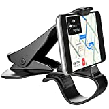 Car Phone Holder, Dashboard Car Mount Phone Holder Cell Phone Clip for Car Dashboard Compatible with iPhone XS/XS MAX/XR/X/8/8Plus/7/7Plus/6s Galaxy S10/S9/S8/S7/Note 9 Google Pixel