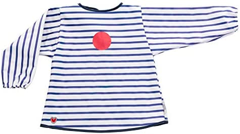 Baby-To-Love Baby Smock (Blue Stripes): Amazon.es: Bebé