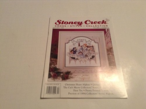 DECEMBER 1993 STONEY CREEK CROSS STITCH ()