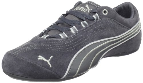 PUMA Women's Soleil Suede Sneaker,Dark Shadow,7.5 B (Suede Cat Shoes)