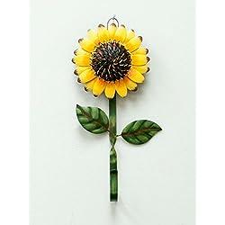 YK Decor Metal Sunflower Home Hook