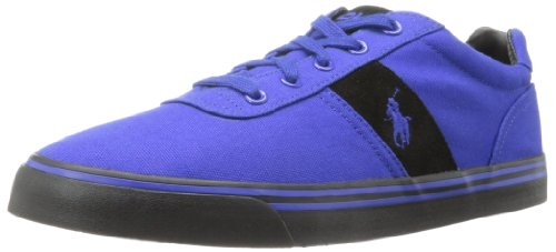 Polo Ralph Lauren Men's Hanford Fashion Sneaker,Rugby Royal/Rugby Royal/Black,10 D US