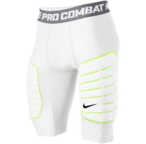 Nike Pro Combat Hyperstrong De-tech Impact Resistant foam girdle 2XL White