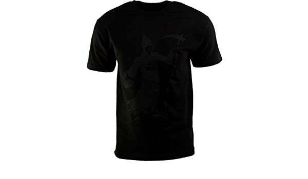 black HUF x Black Scale Reaper Tee