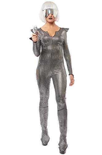 Womens Galaxy Girl Science Fiction Costume Size Medium -
