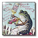 Cheap 3dRose dpp_10908_1 Wall Clock, Vintage German Frog Cologne, 10 by 10-Inch