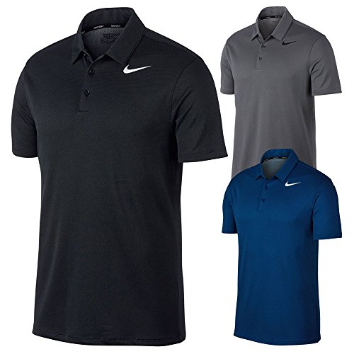 NIKE Dry Fit Textured Golf Polo 2017 – DiZiSports Store