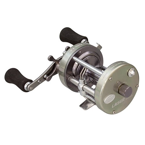 Lews Fishing LXLC60 Laser XL Baitcast Reel, 4.2: 1 Gear Ratio, 18.70