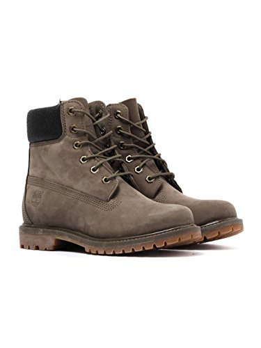 Waterproof Canteen Premium Charred Timberland para Botas Collar 6 Canteen Waterbuck Mujer W Inch vRq4wnt6Z