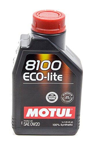 Motul MTL104981 8100 0w20 Eco-Lite Oil, 1 Liter