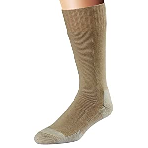 Fox River Adult Military Stryker Wick Dry Mid-Calf Boot Socks, Sand, Large