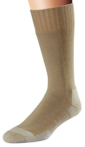 FoxRiver Men's Wick Dry Stryker Mid-Calf, Sand, Large (Best Combat Boot Socks)