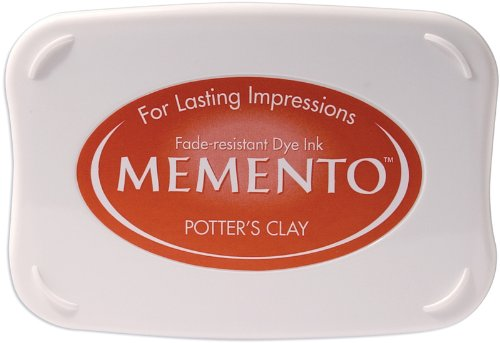 Memento Full Size Dye Inkpad-Potter's Clay 1 pcs sku# 628082MA