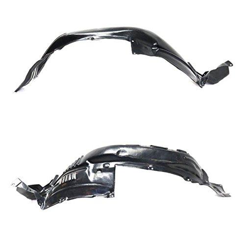 Koolzap For 14-18 4Runner Front Splash Shield Inner Fender Liner Left & Right SET PAIR