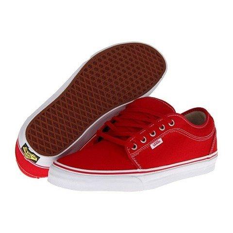 [バンズ]Vans メンズ CHUKKA LOW スニーカー RED/KHAKI/WHITE レッド US7.5(25.5cm) [並行輸入品]