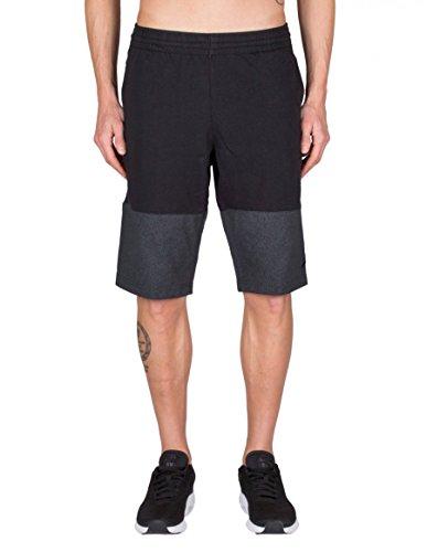 (Nike Mens Jordan Flight Light Elephant Print Shorts Black/Anthracite 843114-010 Size Large)