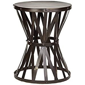 """Deco 79 27523 Metal Accent Table 14"""" W, 18"""" H"""