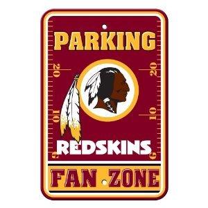Washington Redskins 12 x 18 Parking (Washington Redskins Parking Sign)
