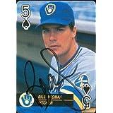 Bill Wegman autographed Baseball Card (Milwaukee Brewers) 1992 Baseball Aces #5 - Autographed Baseball Cards