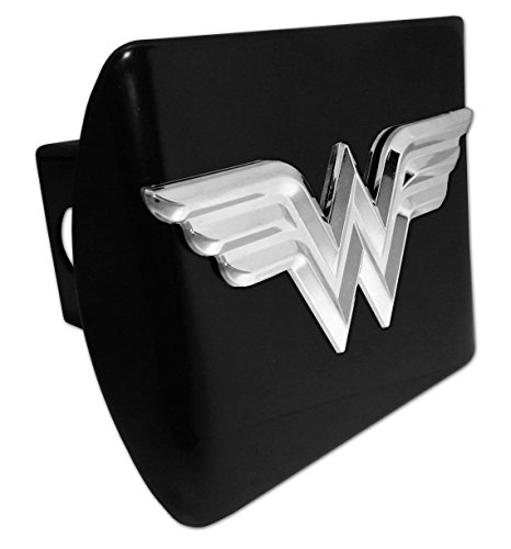Wonder Woman (3D) ALL METAL Black Hitch (Womens Hitch)