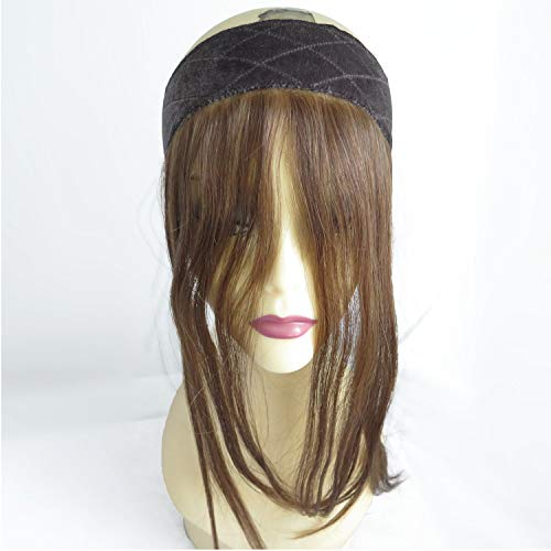 Velvet Jewish Wig Lace Grip Hair Band,Invisible Hairline Comfortable Headband for Women, Color12/8